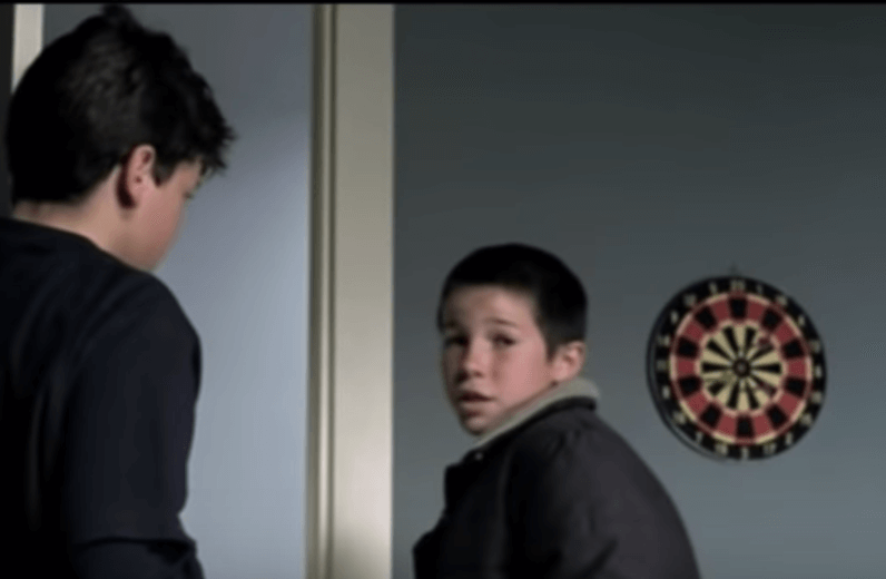 Niños de la película El bola
