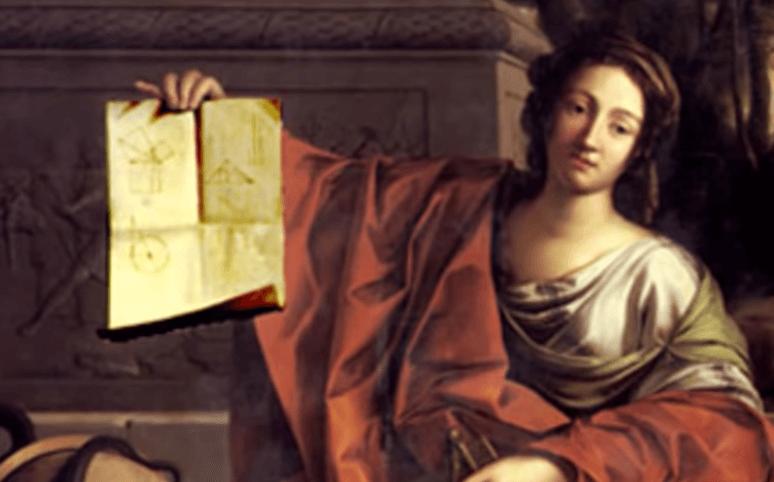 Pintura de Hipatia