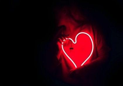 Corazón iluminado