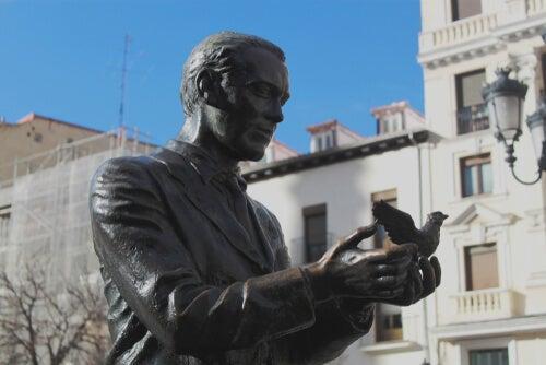 Estatua de Federico García Lorca