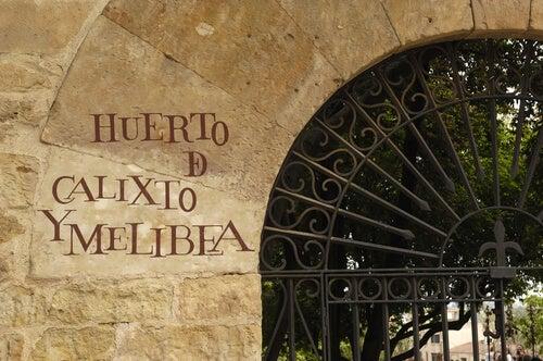 Huerto de Calisto y Melibea