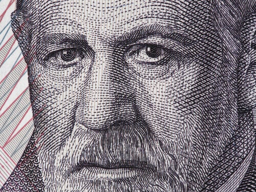 Rostro de Freud