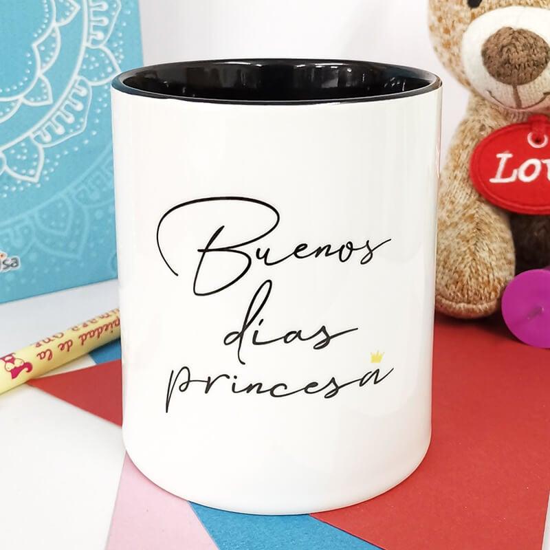 Taza Buenos Días Princesa La Mente Es Maravillosa
