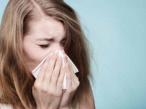 La rinitis alérgica, un llanto contenido