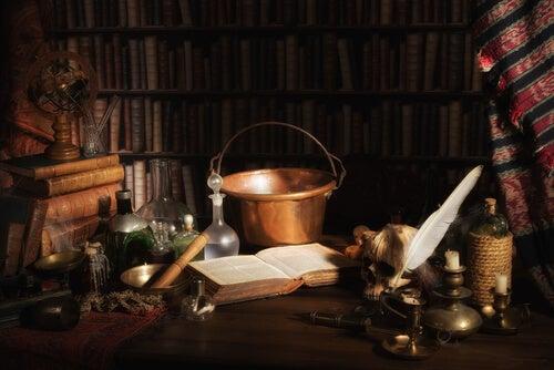 Pócimas y objetos de mago
