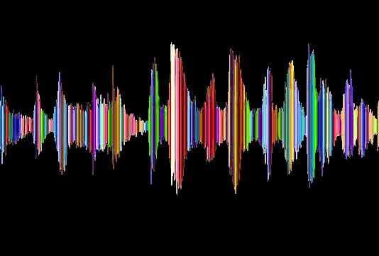 Ondas musicales representando por qué se nos pega una canción