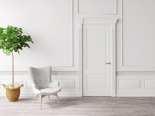 Crea una zona blanca en el hogar