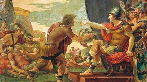 Alejandro Magno y su experiencia con Diógenes y las personas cínicas