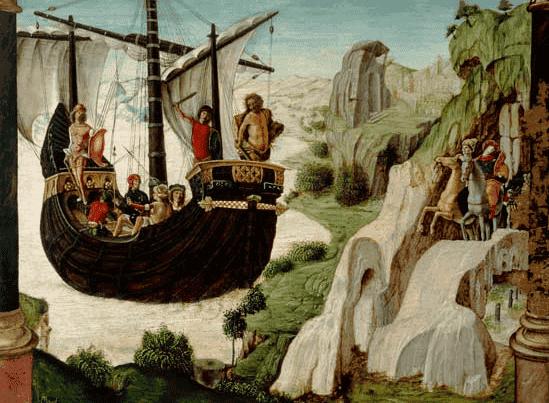 Jasón y los argonautas, un bello mito