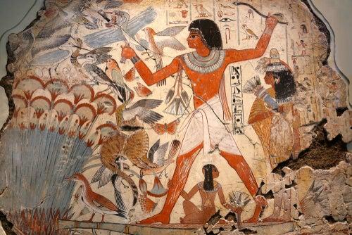Dibujo egipcio
