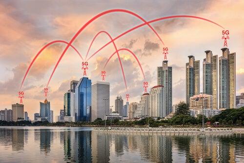 Edificios con redes 5g