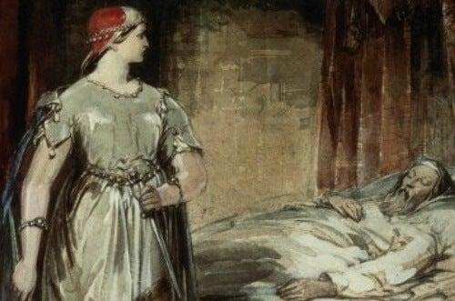 Cuadro representando el efecto Lady Macbeth