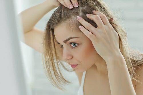 El nerviosismo, el estrés y la caída del cabello