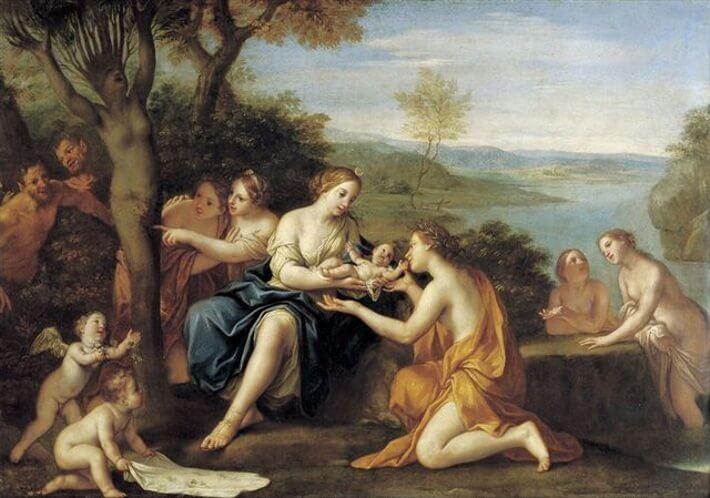 El nacimiento de Adonis