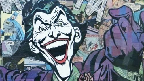 Imagen de cómic representando el perfil psicológico del Joker
