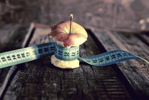 Manzana con metro