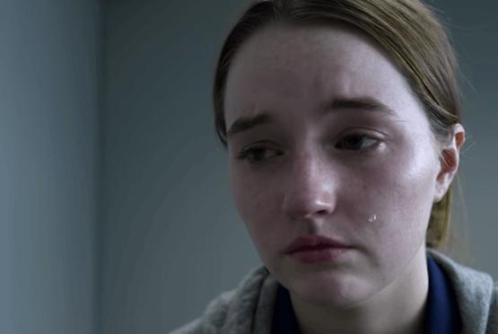 Marie llorando