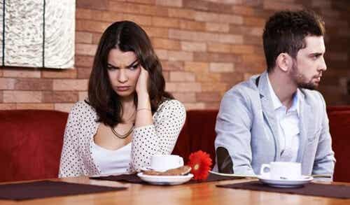 La intolerancia a la frustración en las relaciones de pareja