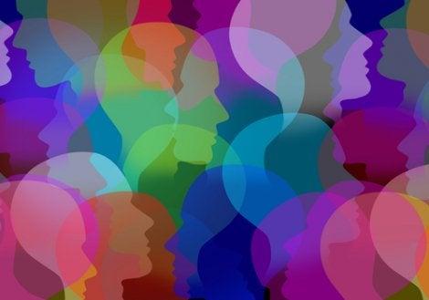 Perfiles de rostros para representar la relación entre Depresión y TOC