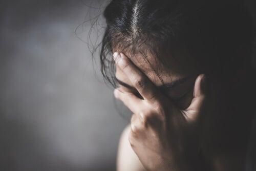 Persona con depresión mayor
