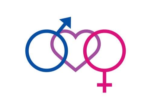 Símbolo de bisexualidad