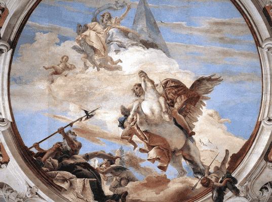 El mito de Belerofonte, el jinete de un caballo alado