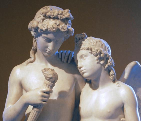 Cupido e Himeneo