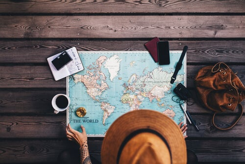 La huida en forma de un largo viaje