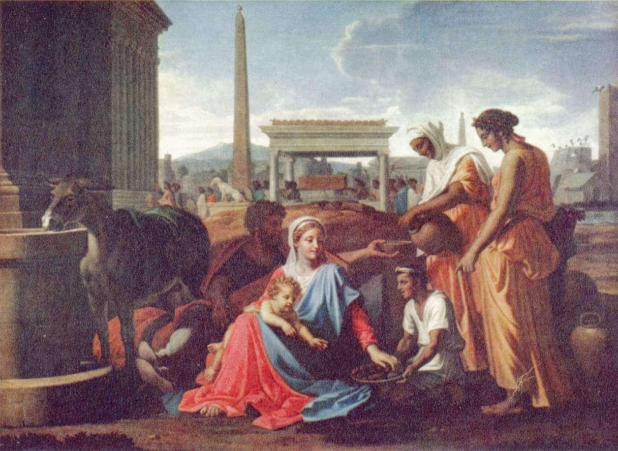 Paisaje con Orfeo y Eurícide