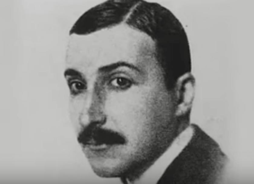 Rostro de Stefan Zweig