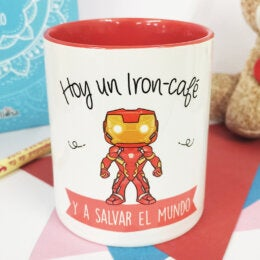 Taza de Café y Té Iron Man