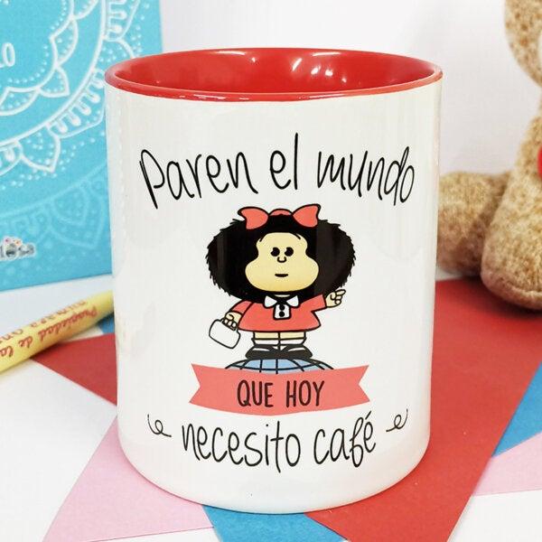 Taza de Cafe y Te Mafalda