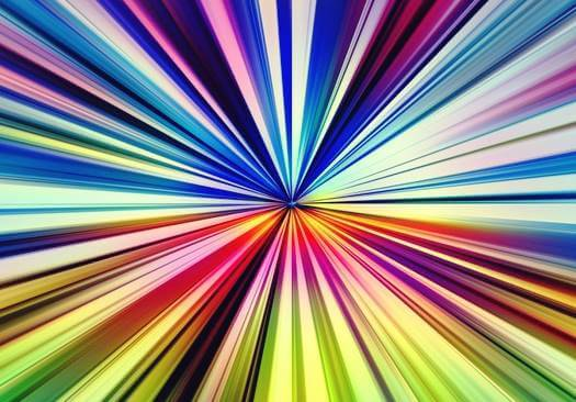 luces representando la percepción divergente