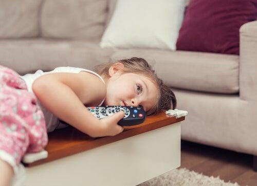 El sedentarismo infantil