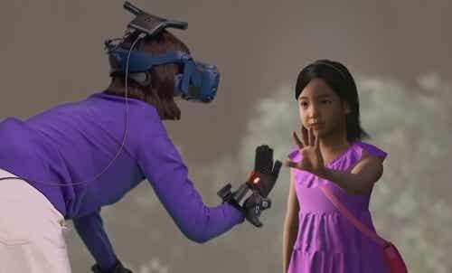 La realidad virtual permite a una madre ver a su hija fallecida