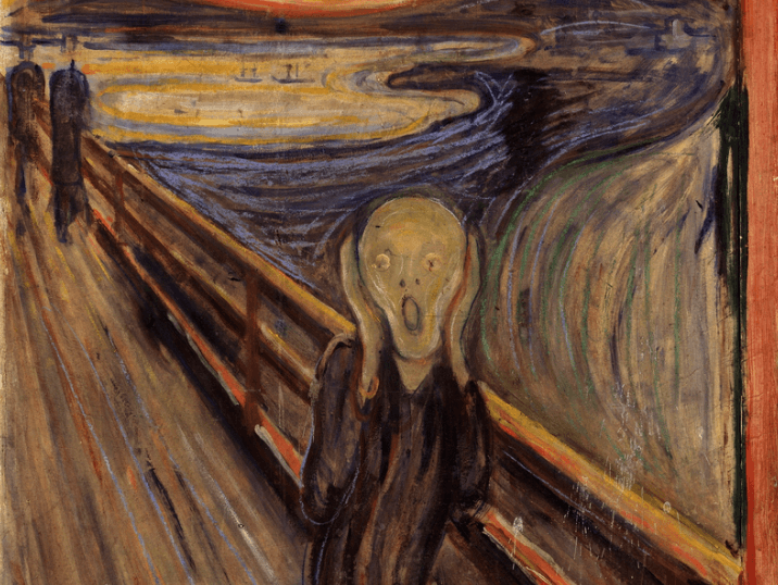 Edvard Munch, pinturas de amor y muerte