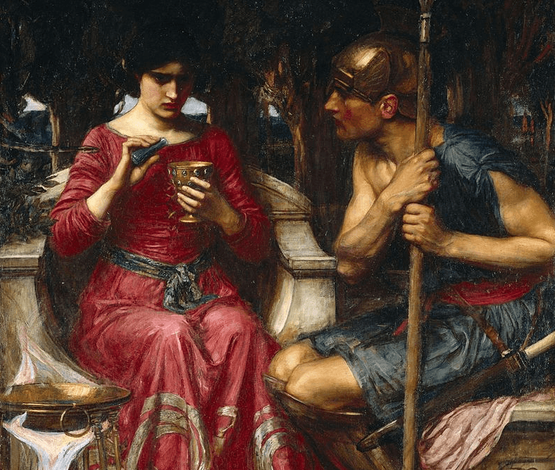 El mito de Medea, la hechicera enamorada