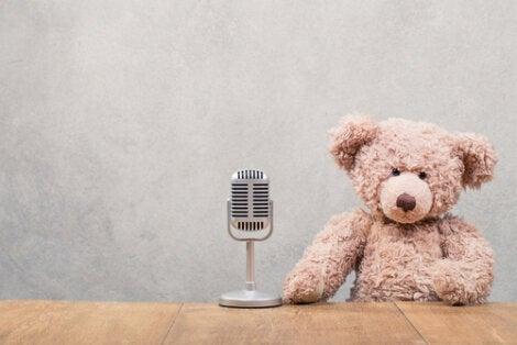 Oso micrófono