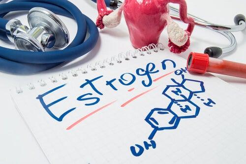Fórmula química de los estrógenos