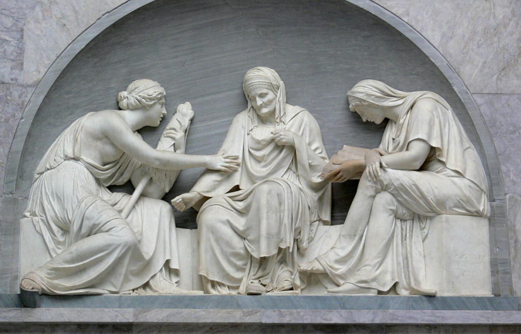 El mito de las tres parcas y los misterios de la muerte