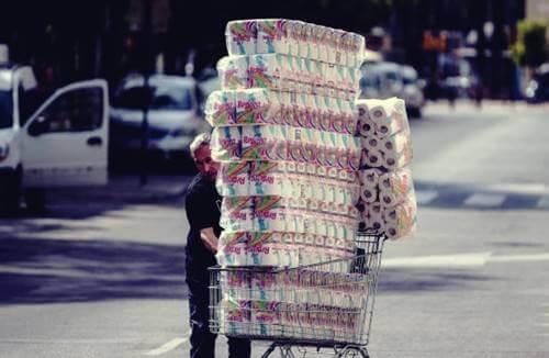 Imagen representando ¿Por qué la gente compra papel higiénico?