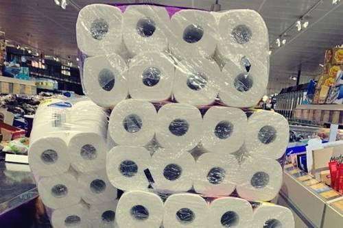 Resultado de imagen de compra compulsiva del papel higienico
