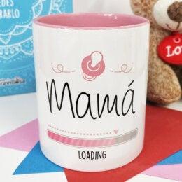 Taza de Café Rosada