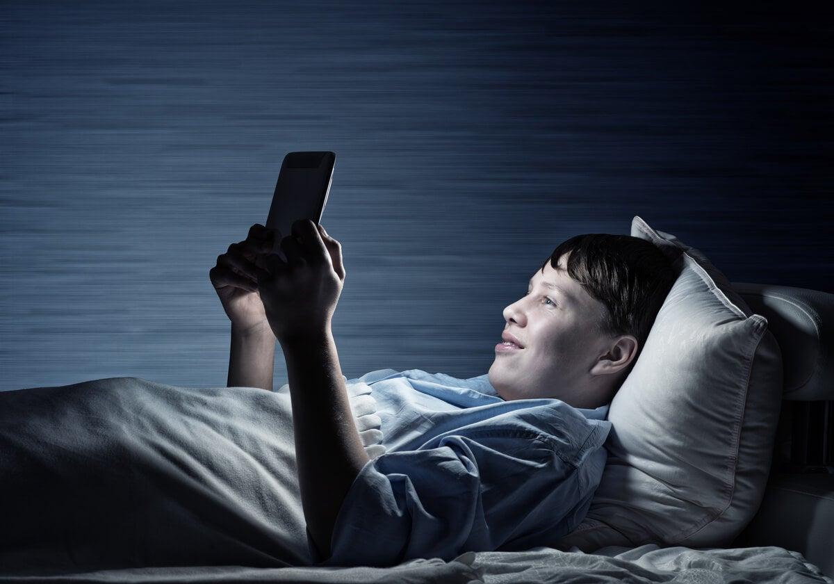Chico con ludopatía online