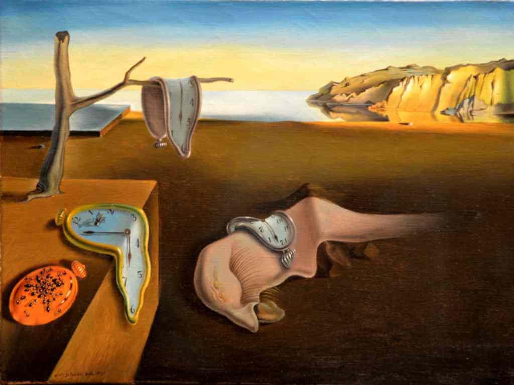 La persistencia de la memoria de Dalí