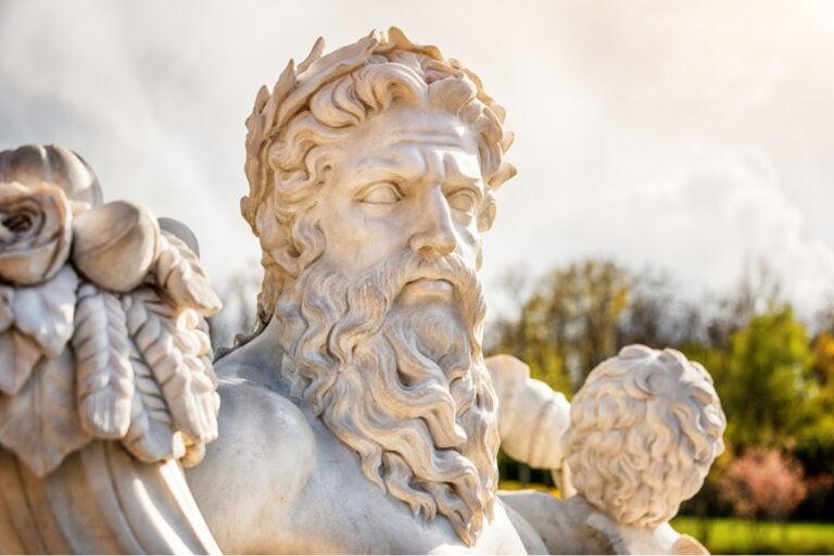 El mito Zeus, dios del cielo