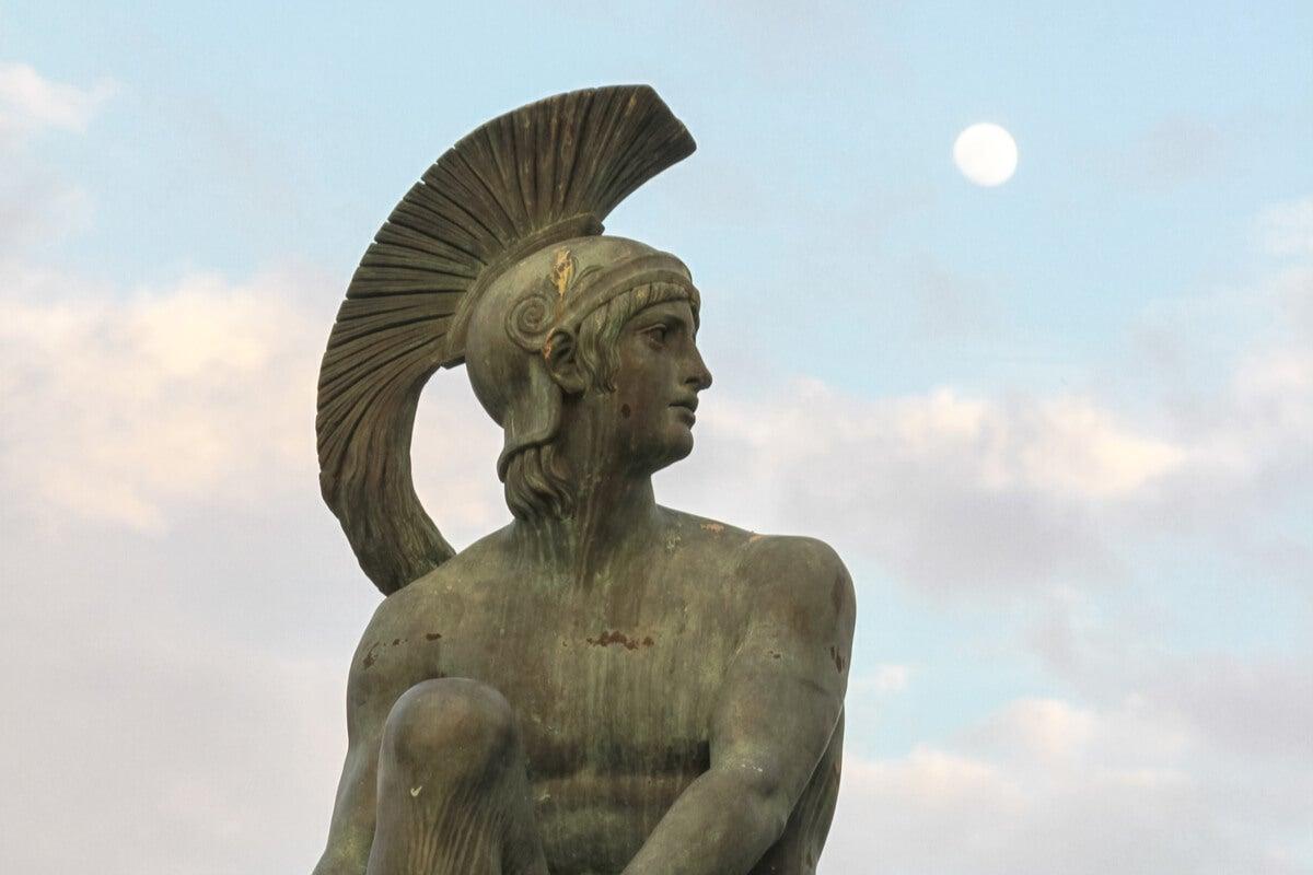 El mito de Ares, dios de la ira y de la guerra