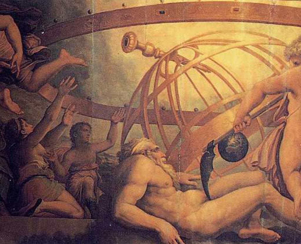 El mito de Urano, el titán de la bóveda celeste