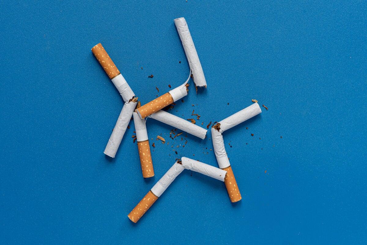 Cigarros rotos para la prevención del tabaquismo
