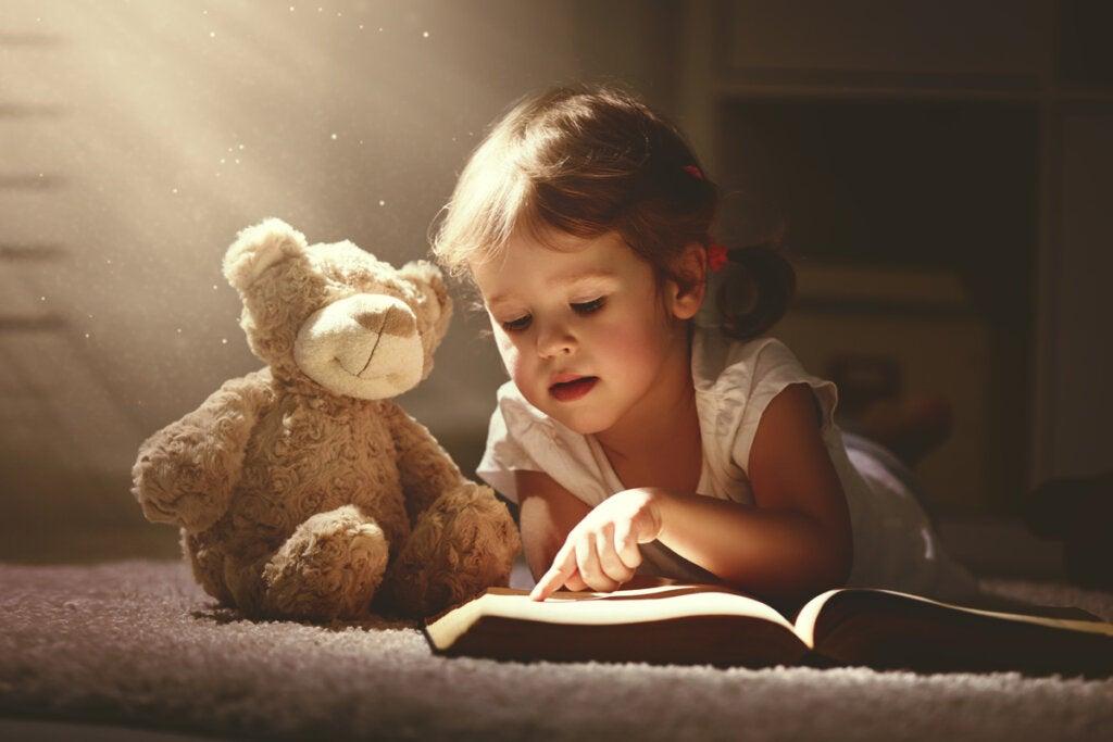 Imagen para representar que tu hija se transformará en un ser libre y sabio con estos cuentos infantiles